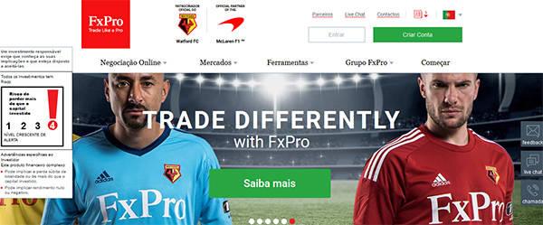 FxPro main page