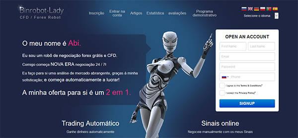 Binrobot Lady Abi