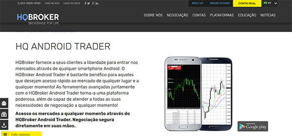 HQ Broker Android & iPhone