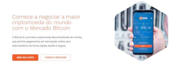 Mercado Bitcoin para Dispositivos Android & iOS