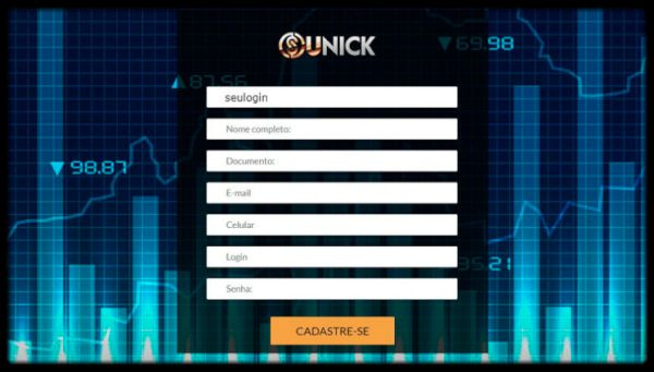 Unick forex login